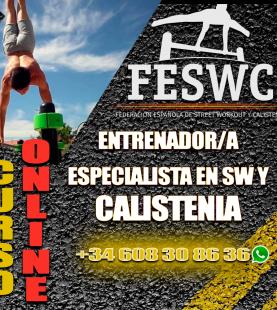 ENTRENADOR/A ESPECIALISTA EN SW Y CALISTENIA